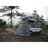 Wholesale Anti Water Car Roof Mounted Tent With 2M Extendable Aluminum Ladder from china suppliers