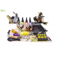 Wholesale Complete Tattoo Starter Kits With 4 Bottles 5ml Color Ink 2 Tattoo Machine from china suppliers