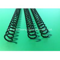 Wholesale Round Black Plastic Spiral Coils 7/16'' , Unlocking Binding Coil For Books from china suppliers