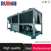 Wholesale Air Cooled Screw Chiller for Concrete Manufacturing from china suppliers