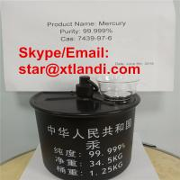 Wholesale factory direct supply china mercury siliver mercury silver liquid mercury Email/Skype:star@xtlandi.com from china suppliers
