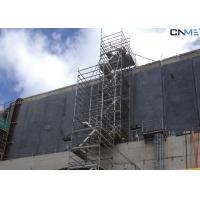 Wholesale Aluminium Stair Type Concrete Shoring Systems , Lightweight Scaffolding Systems from china suppliers