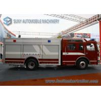 Wholesale FAW 4x2 8000L Water Fire Fighting Trucks 270hp Double Row Cabin from china suppliers