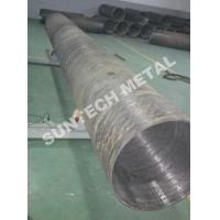Wholesale UNS N04400 Nickle Alloy and Carbon Steel Clad Pipe For Chemical Process Equipment from china suppliers