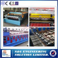 Wholesale 18 Stations Wall Panel Double Layer Roll Forming Machine Chain Driven System from china suppliers