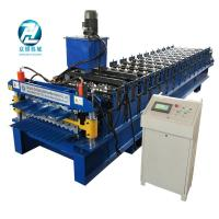Buy cheap Box type Metal Profile Roll Forming Machine with coil decoiler from wholesalers