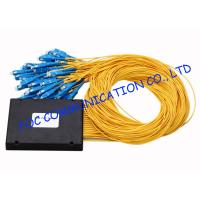 Wholesale High Return Loss Fiber PLC Splitter 1 × 64 ABS Module Type With SC Connectors from china suppliers