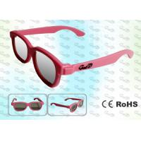 Wholesale REALD Cinema Colorful kids Circular polarized 3D glasses from china suppliers