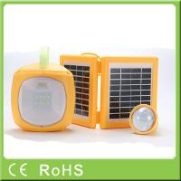 Wholesale High quality 4500mah 6V led light panel solar rechargeable led camping lantern from china suppliers