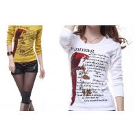 Wholesale Lady T shirts piece printing from china suppliers