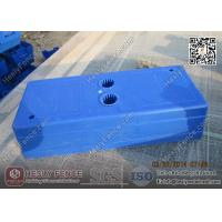 Injection Mold Plastic Feet Blue Color