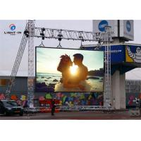 Wholesale P6 192*192mm panel outdoor full color Rental LED Display screen for stage from china suppliers