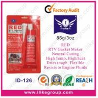 Quality Flexible Acetic Cure Silicone Sealant / Red Gasket Maker With Heat Resistant for sale