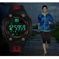 Buy cheap SMAEL Bluetooth 3d Pedometer Calorie Remote Camera Smart Sport Watches for Android and Ios  1339 from wholesalers