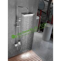 Buy cheap brass 38 degree thermostatic shower set,chrome finished,shower system,bathroom accessories from wholesalers