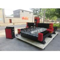 Wholesale Welding Lathe CNC Stone Engraving Machine , NC Studio Controller Heavy Duty CNC Router from china suppliers