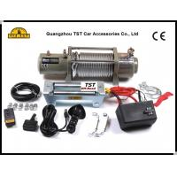 Wholesale 12V / 24V 4wd Recovery Kit 12000Lbs Electric Winch With Fairlead Remote from china suppliers
