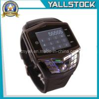 Wholesale Black New 1.55inch Touch Screen Steel Mobile Phone Watch-E02059 from china suppliers