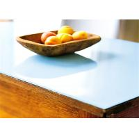 Buy cheap China high quality safety tempered milk white glass table top wholesale price from wholesalers