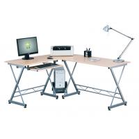 Wholesale Unsteamed Beech Melamine Office Computer Desks , Modern Home Furniture Table DX-402 from china suppliers