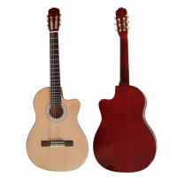 Wholesale Cutaway 39 inch 6 String Wood Classical Guitar Solid Spruce Top Guitar CG3920C from china suppliers