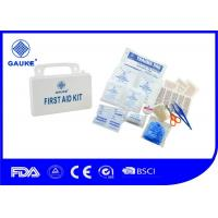 Wholesale White Handy Medical First Aid Kit Box Hurricane Survival Kit Waterproof With Handle from china suppliers