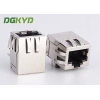 Wholesale POE RJ45 Connector with internal isolationTransformer 100base-TX 8P8C OEM / ODM from china suppliers