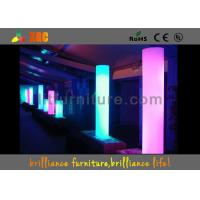 Wholesale Colorful LED / Illuminated flower pots / PE LED Pillars from china suppliers