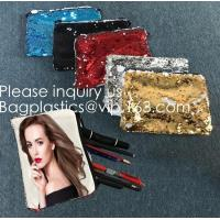 Wholesale Heat Transfer Blank Magic Sequin Small Hand bag For Sublimation Printing,Sublimation Multicolor Sequin Bag Blanks  pack from china suppliers
