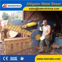 Wholesale Q43-3150 315ton cutting force Hydraulic Metal Shear to cutting angle and channel steel with button control from china suppliers