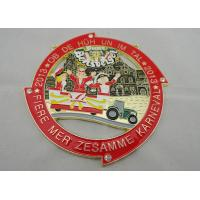 Wholesale Custom Fiere Die Cast, Die Struck, Stamped Mer Zesamme Karneval medal by Two Tones Plating from china suppliers