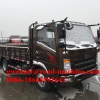 Wholesale 100HP Small Cargo Van Light Duty Commercial Trucks With MAN Axles from china suppliers