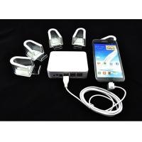 Wholesale COMER 6 USB port Cellphone Security Mounting Acrylic Cradles with Alarm and Charger from china suppliers