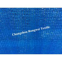 Wholesale Royal Blue Plastic Windbreak Shade Netting Safety Fence For Agriculture / Carport / Farm from china suppliers