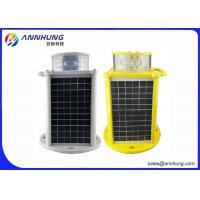 Wholesale High Brightness Solar Powered Aviation Lights / Tower Obstruction Lighting from china suppliers