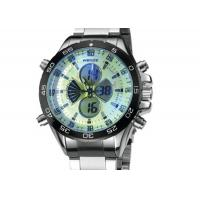 Wholesale Weide Stainless Steel Mens Military Watches Water Resistant , Japan Movt Watch from china suppliers