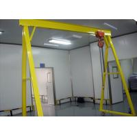 Wholesale Mobile 5 Ton Single Beam Gantry Crane Electric Hoist With Hook For Cargo Lifting from china suppliers
