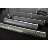 Wholesale Decorative Stainless Steel Perforated Tube / polished Window Frame Wire mesh metal from china suppliers