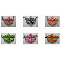 Wholesale Crack Pattern Eye Masks For Halloween Masquerade Christmas Party from china suppliers