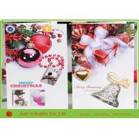 Wholesale 10 X 16 Cm Size Personalized Holiday Cards , Musical Christmas Greeting Card from china suppliers