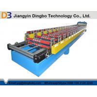 Wholesale 380V 50Hz 840 Roof Tile Corrugated Roll Forming Machine With Colored Steel Plate from china suppliers