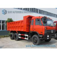 Wholesale Dongfeng 6x4 20T 30T Garbage Trucks , 3 - Axles Garbage Container Truck from china suppliers