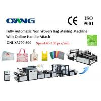Wholesale Multi Functional Ultrasonic Non Woven Box Bag Making Machine White And Gray from china suppliers