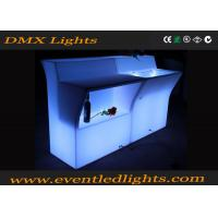 Wholesale illuminated Led Furniture hotel bar club nightclub mobie bar counter design from china suppliers