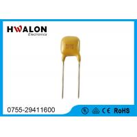 Wholesale Yellow color Electronic Components PPTC Thermistor Resistor Radial Leaded from china suppliers