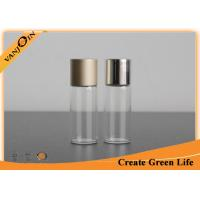 Wholesale Screw Top Small Glass Vials 5ml With Aluminum Cap , Perfume Mini Glass Containers from china suppliers