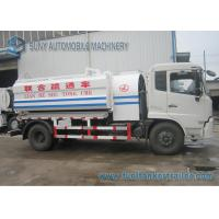 Wholesale 8000L 190hp 4x2 Vacuum Tank Truck High Pressure Sewer Vacuum Truck from china suppliers