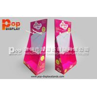 Wholesale Hooks Red Corrugated Cardboard Display recyclable For Pacifiers In Shop from china suppliers