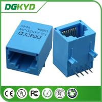 Wholesale High performance Blue housing RJ45 lan jack with transformer , KRJ -015DJWDBNL from china suppliers