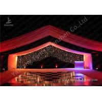 Wholesale Luxury Marquees For Weddings Decorated with Noble and Gorgeous Linings and Lightings from china suppliers